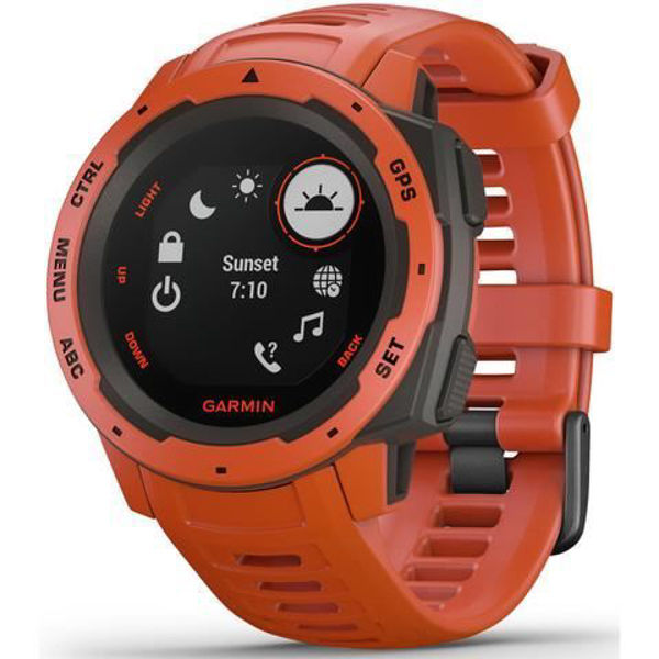 Picture of Garmin Instinct Sports Watch (Flame Red)