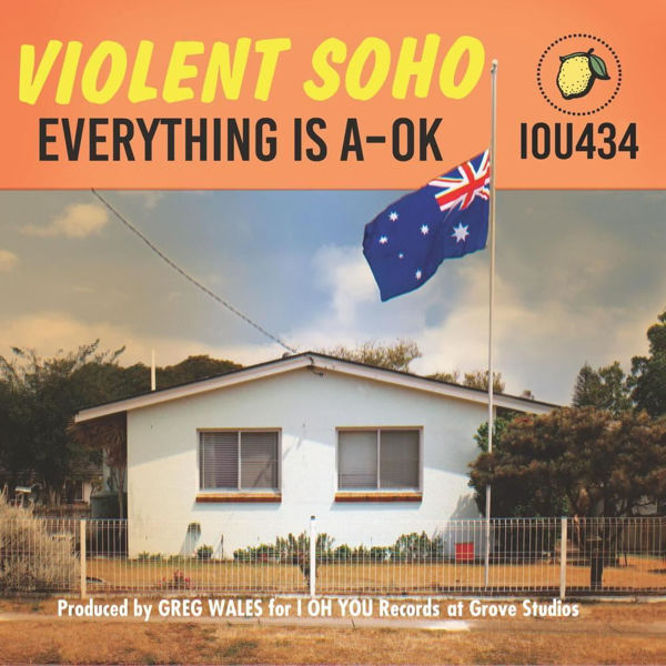Picture of Violent Soho 2020 - Everything Is A-OK CD