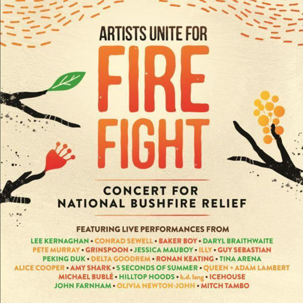 Picture of Various Artists 2020 - Artists Unite For Fire Fight CD