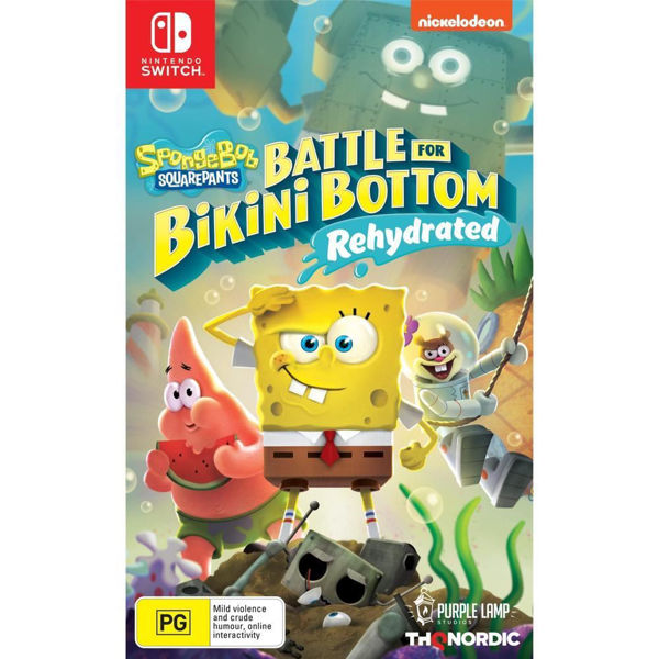 Picture of SpongeBob SquarePants: Battle for Bikini Bottom Rehydrated  - Nintendo Switch