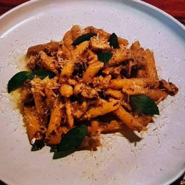 Picture of Pasta - Penne Creamy Truffle Mushroom