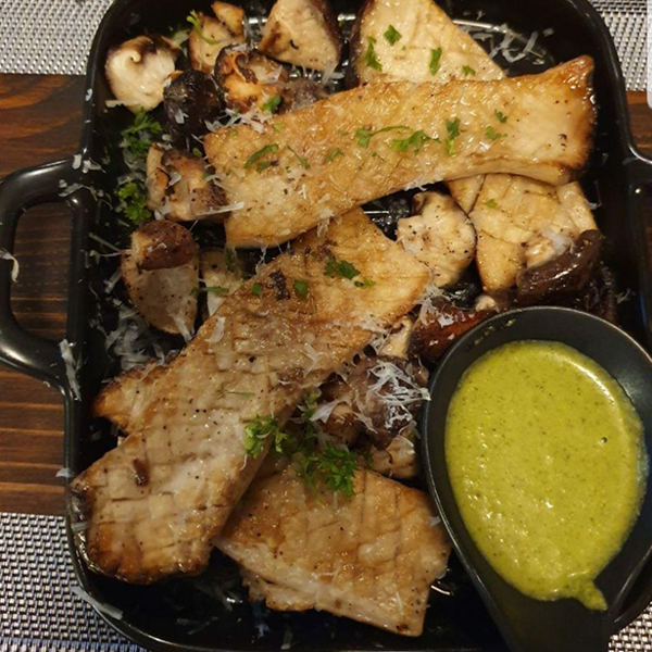 Picture of Appetiser - Mixed Grilled Mushroom Chumicurri Sauce