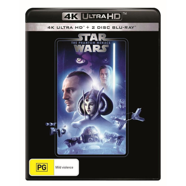 Picture of Star Wars: Episode I - A Phantom Menace - 4K Ultra Blu-Ray
