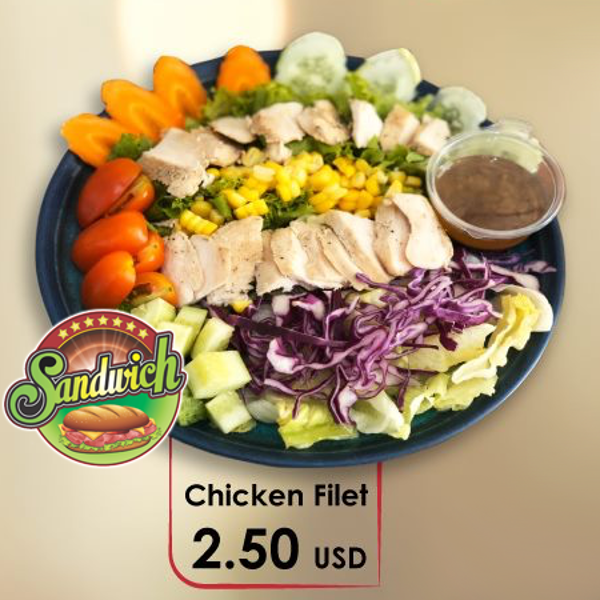 Picture of Salad Chicken