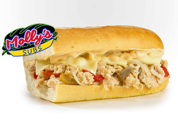 Picture of Chicken Steak Sub Cheddar Cheese