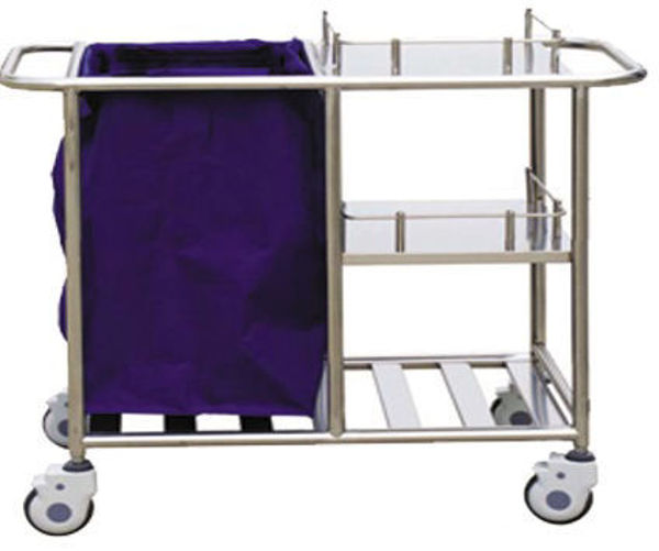 Picture of FC-34 Stainless Steel Nursing Trolley