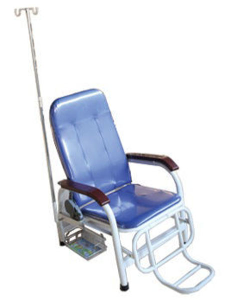 Picture of FJ-6 Steel Material Jet Moulding Transfusion Chair