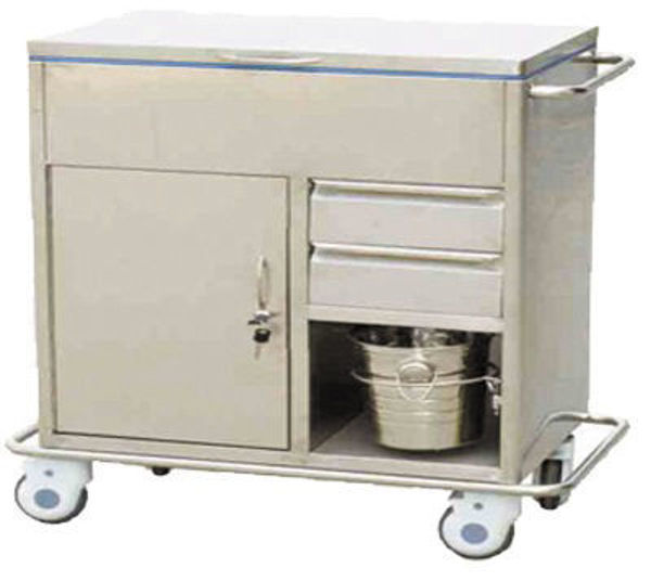 Picture of FC-20 Stainless Steel Emergency Trolley
