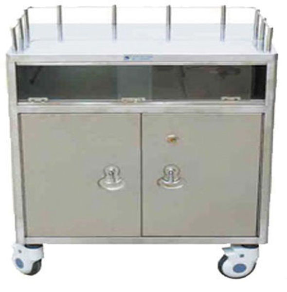 Picture of FC-24 Stainless Steel Anesthesia Trolley