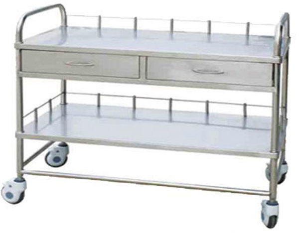 Picture of FC-25 Stainless Steel Trolley For Sending Medicine