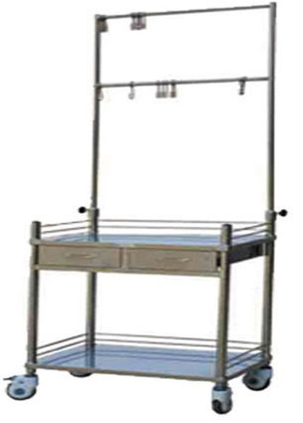 Picture of FC-28 Stainless Steel Transfusion Trolley