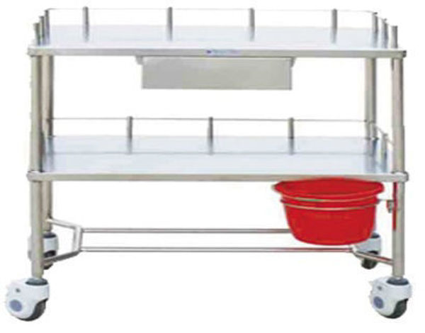 Picture of FC-16 Stainless Steel Instrument Trolley