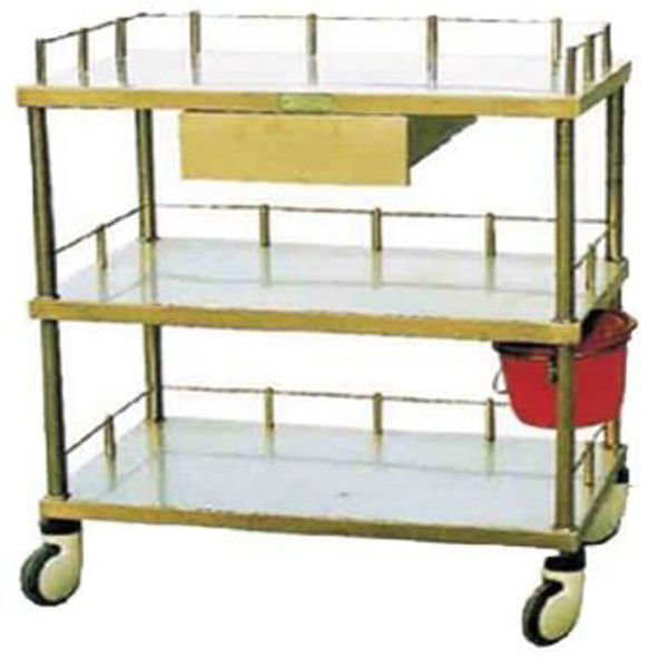 Picture of FC-17 Stainless Steel Treatment Trolley