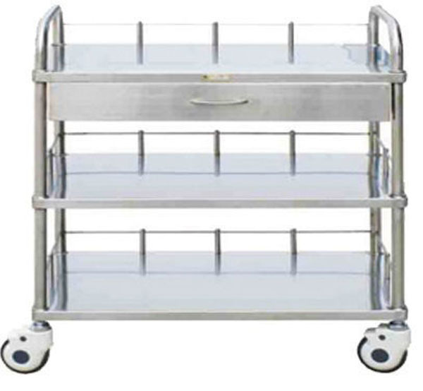 Picture of FC-18 Stainless Steel Treatment Trolley With Three Layers
