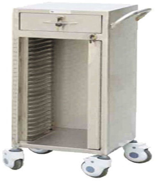 Picture of FC-43 Stainless Steel 25-Dossier Trolley