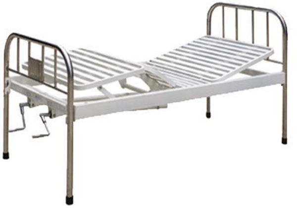 Picture of FB-31 2 Cranks Bed With Stainless Steel Bed Head
