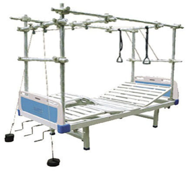Picture of FB-37 Multi-Function Traction Bed With ABS Bed Head And Support