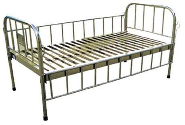 Picture of FB-41 All Stainless Steel Flat Bed For Children