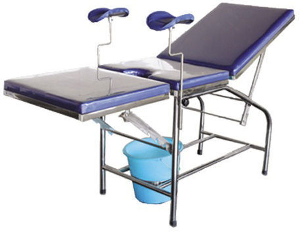 Picture of FB-44 Stainless Steel Light Parturition Bed