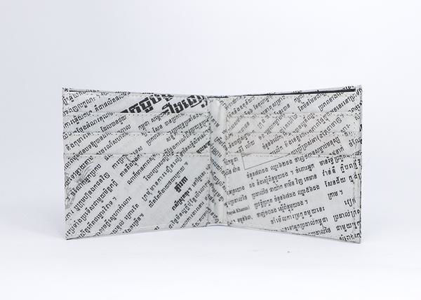 Picture of Newspaper Bi-fold Wallet