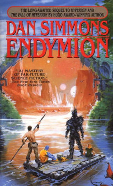 Picture of Hyperion #3 - ENDYMION by Dan Simmons [PAPER BACK]