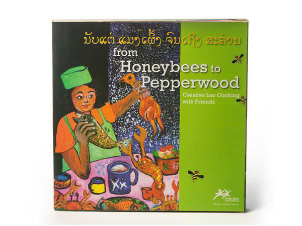 Picture of From Honeybees to Pepperwood Cookbook [FRENCH]