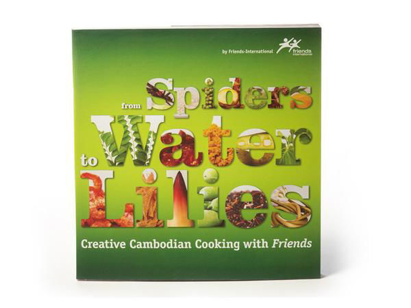 Picture of From Spiders to Water Lilies Cookbook [FRENCH]