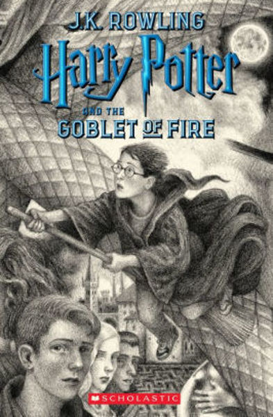 Picture of Harry Potter #4 and the Goblet of Fire  - J. K. Rowling  [PAPER BACK]