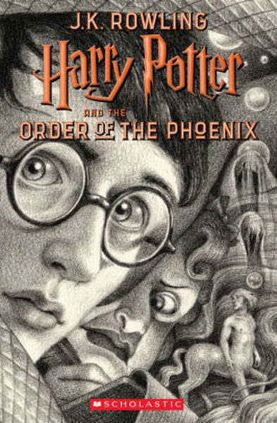 Picture of Harry Potter #5 and the Order of the Phoenix - J. K. Rowling  [PAPER BACK]