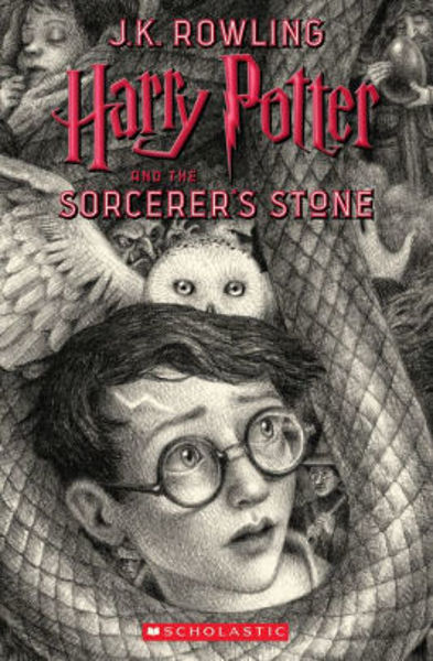 Picture of Harry Potter #1 and the Sorcerer's Stone  - J. K. Rowling  [PAPER BACK]