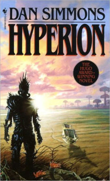 Picture of Hyperion #1 - HYPERION by Dan Simmons [PAPER BACK]