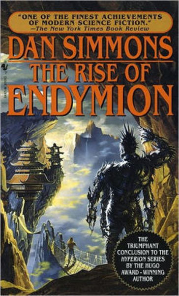 Picture of Hyperion #4  - THE RISE OF ENDYMION by Dan Simmons [PAPER BACK]