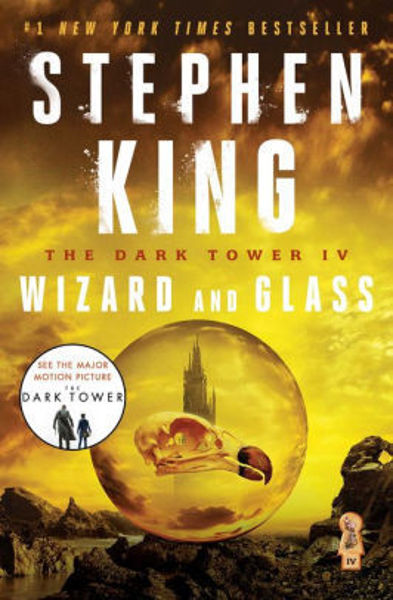 Picture of Dark Tower #4 - WIZARD AND GLASS by Steven King [PAPER BACK]
