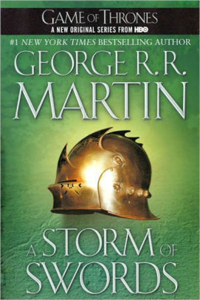 Picture of A Song of Ice & Fire #3 - A STORM OF SWORDS by George R. R. Martin [PAPER BACK]