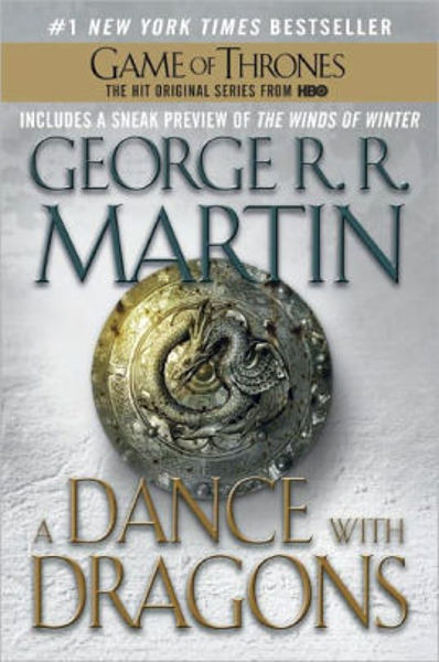 Picture of A Song of Ice & Fire #5 - A DANCE WITH DRAGONS by George R. R. Martin [PAPER BACK]
