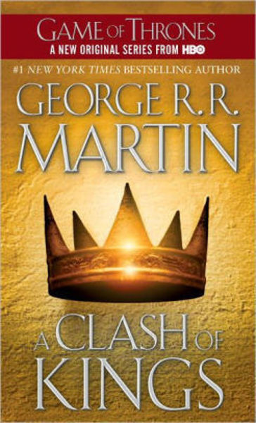 Picture of A Song of Ice & Fire #2 - A CLASH OF KINGS by George R. R. Martin [PAPER BACK]