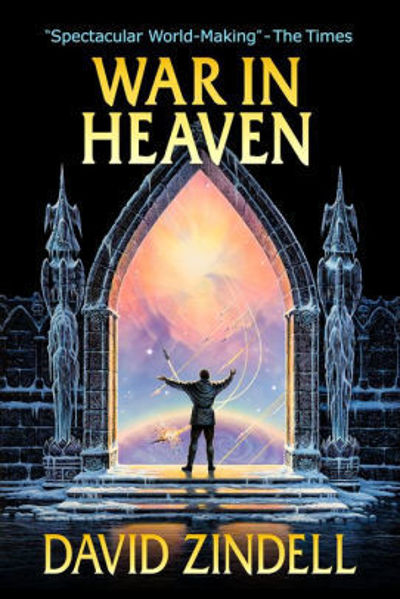 Picture of Neverness Cycle #4 - WAR IN HEAVEN by David Zindell [PAPER BACK]