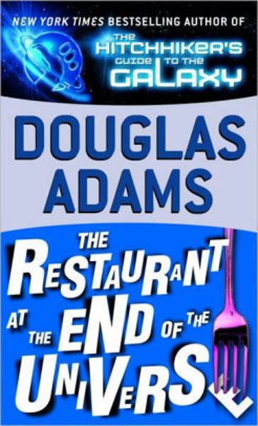 Picture of HitchHikers #2 - THE RESTAURANT AT THE END OF THE UNIVERSE by Douglas Adams [PAPER BACK]