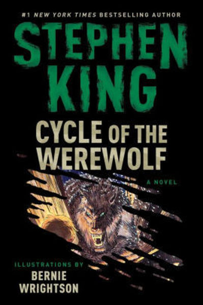 Picture of CYCLE OF THE WEREWOLF by Stephen King [PAPER BACK]