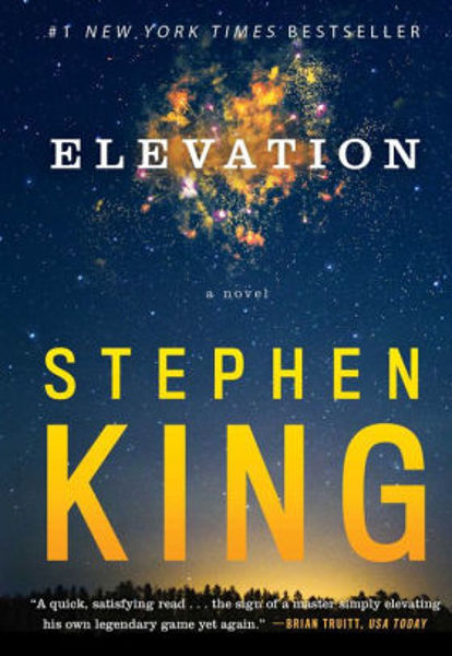 Picture of ELEVATION by Stephen King [PAPER BACK]