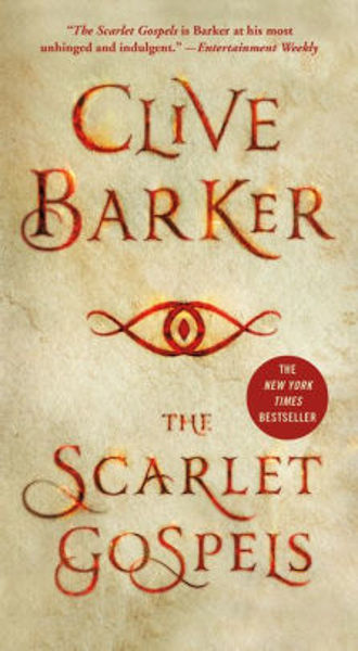 Picture of THE SCARLET GOSPELS by Clive Barker [PAPER BACK]