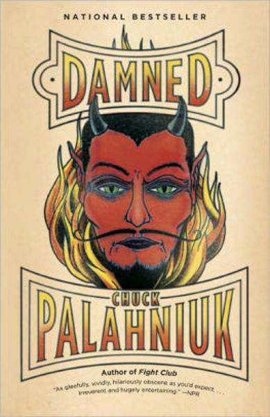 Picture of DAMNED by Chuck Palahniuk [PAPER BACK]