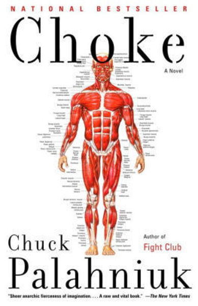 Picture of CHOKE by Chuck Palahniuk [PAPER BACK]