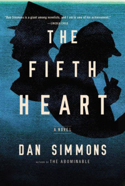 Picture of THE FIFTH HEART by Dan Simmons [PAPER BACK]