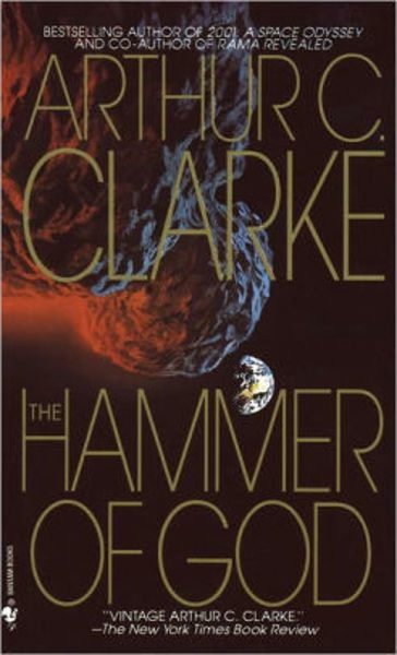 Picture of THE HAMMER OF GOD by Arthur C. Clarke [PAPER BACK]