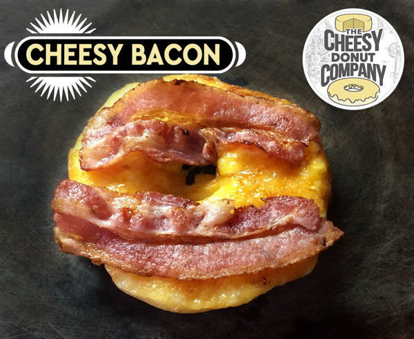 Picture of Cheesy Bacon Donut