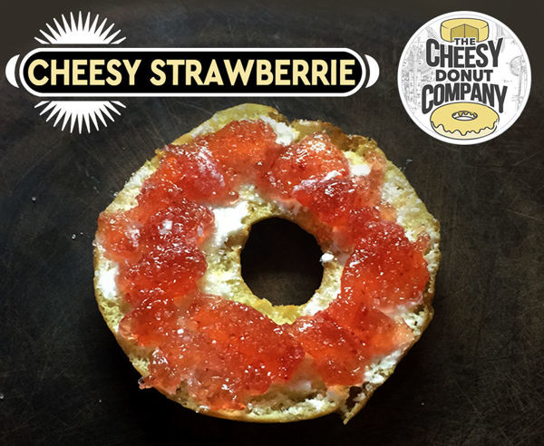 Picture of Cheesy Strawberrie Donut