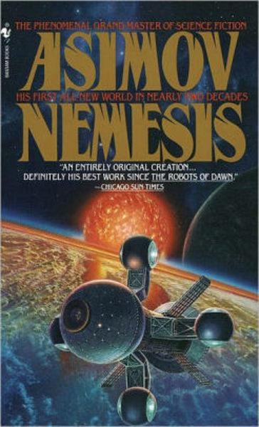 Picture of NEMESIS by Isaac Asimov [PAPER BACK]