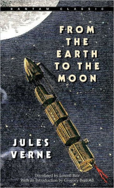 Picture of FROM THE EARTH TO THE MOON by Jules Verne [PAPER BACK]