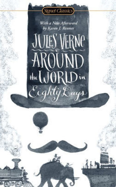 Picture of AROUND THE WORLD IN EIGHTY DAYS by Jules Verne [PAPER BACK]